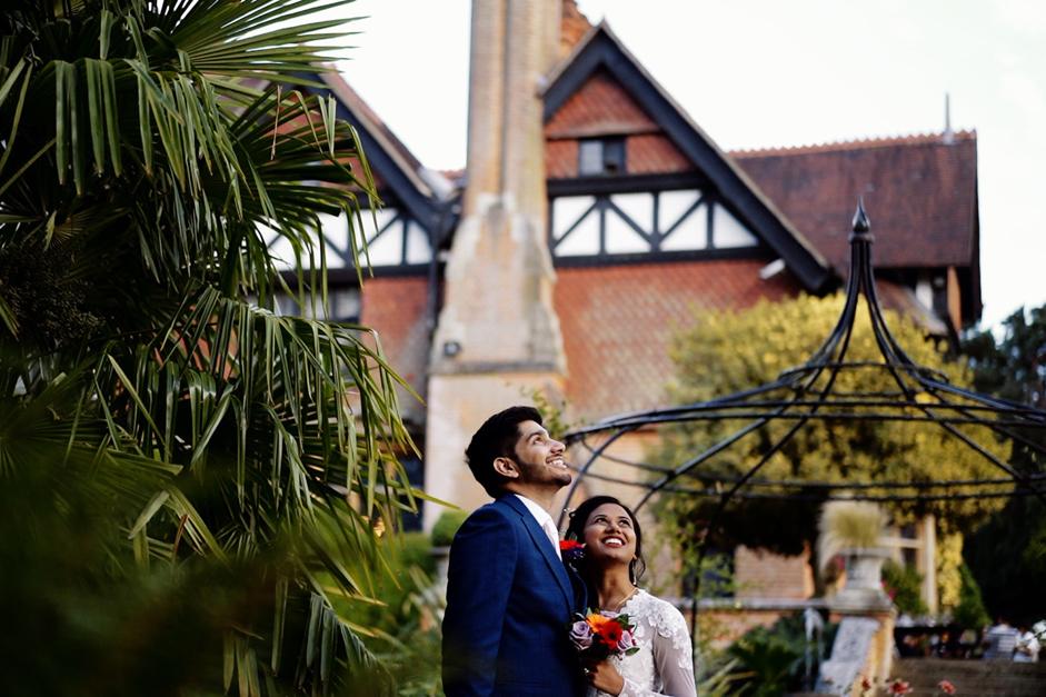 Bride and Groom taken by Kent wedding videographer Aidan Willis Films